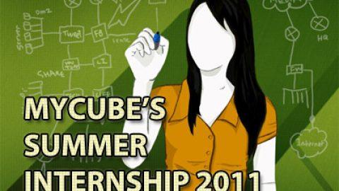 MyCube's Summer Internship 2011!