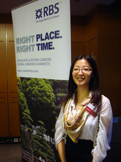 Wang Jingyi Ginny, NTU student majoring in Mathematics and Economics