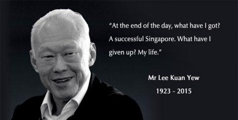 Remember Mr Lee Kuan Yew