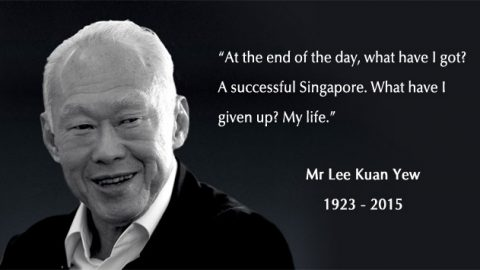 Remember Mr Lee Kuan Yew